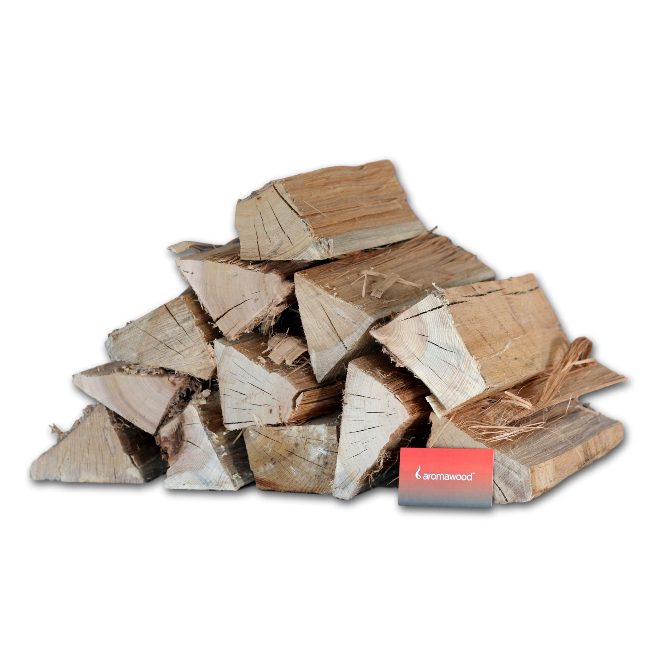 Aromawood Splits American White Oak and Hickory 15kg